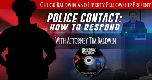 Police Contact How To Respond, Attorney Tim Baldwin