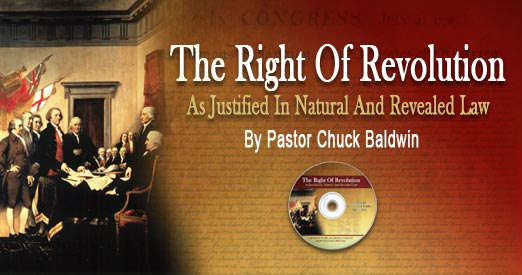 The Right Of Revolution  As Justified In Natural And Revealed Law DVD