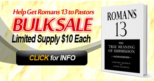 Liberty Fellowship Bulk Special Romans 13: The True Meaning of Submission