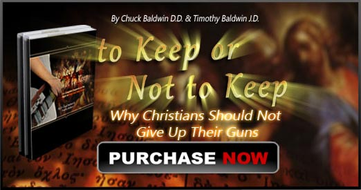To Keep or Not to Keep: Why Christians Should Keep Their Guns Book