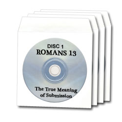 Romans 13: 4 disc DVD and Sermon by Dr. Chuck Baldwin